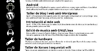 [hacklabvalls] Tallers sobre eines de programari lliure.
