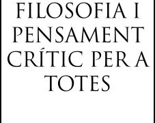 [Desembre-Maig] Curs de Filosofia i Pensament Crític