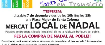 Mercat de Nadal a Santa Coloma de Queralt