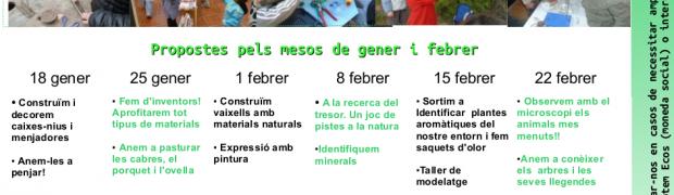 Tallers de ciència i natura a Les Esplanes