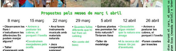 [Dissabte, de 10h a 13h] Tallers de ciència i natura a Les Esplanes
