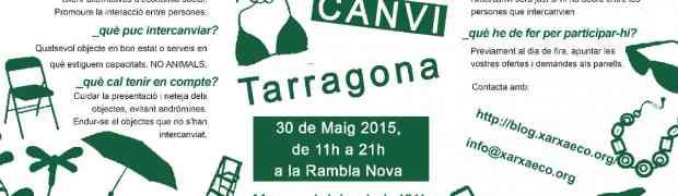 [30Maig] Festa del Comerç Just, la Banca Ètica i l'Intercanvi a Tarragona!