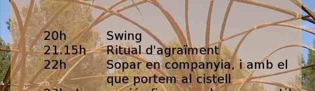 [29 Agost - Nulles] Festa de la lluna plena i la cúpula de bambú&canya